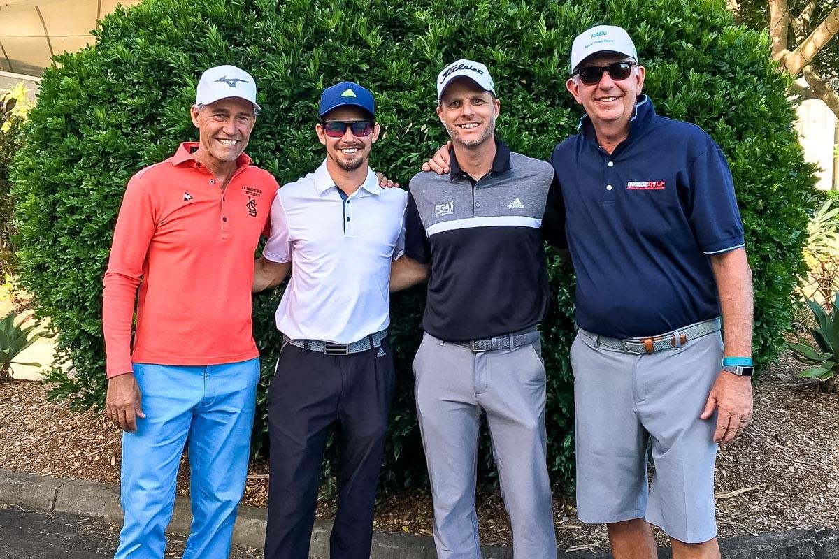 Broc Greenhalgh PGA Qld State Manager, David Ross - Inside Golf, Casey Stoner, Casey Stoner Manager